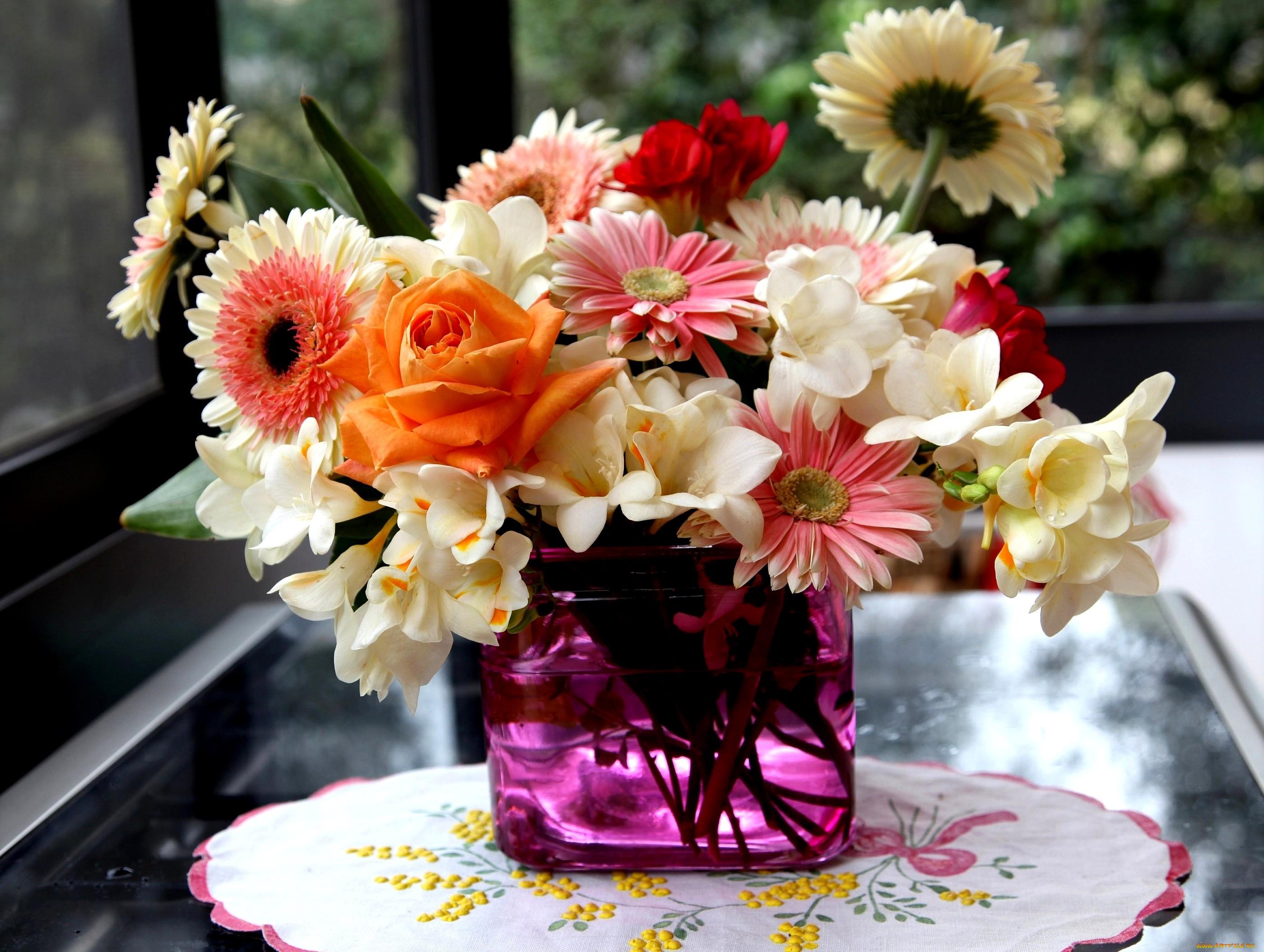 Букеты цветов фото сказочные